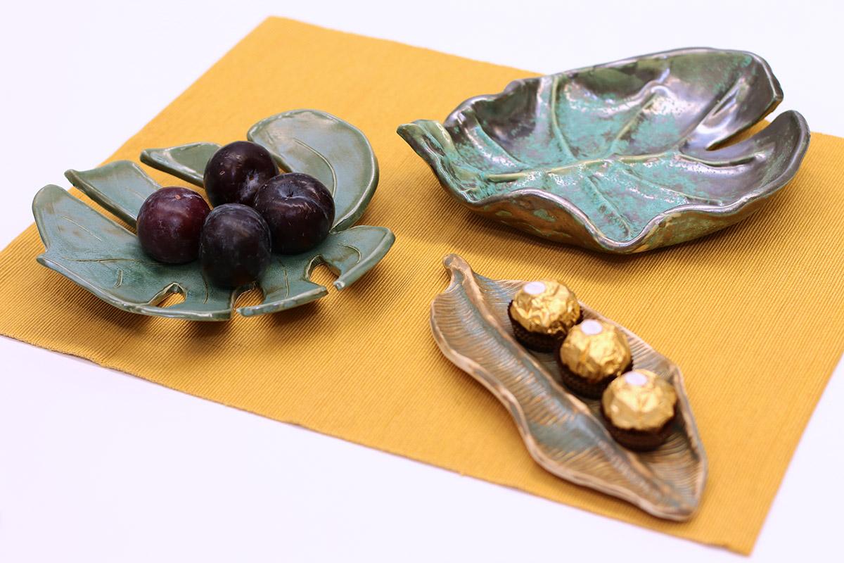 yourart ceramics leaves workshop