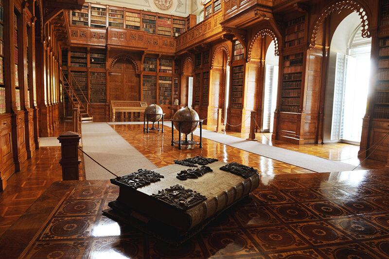 zirc abbey library