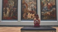 Art Painting Museum Exhibition