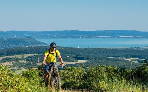 Balaton biking