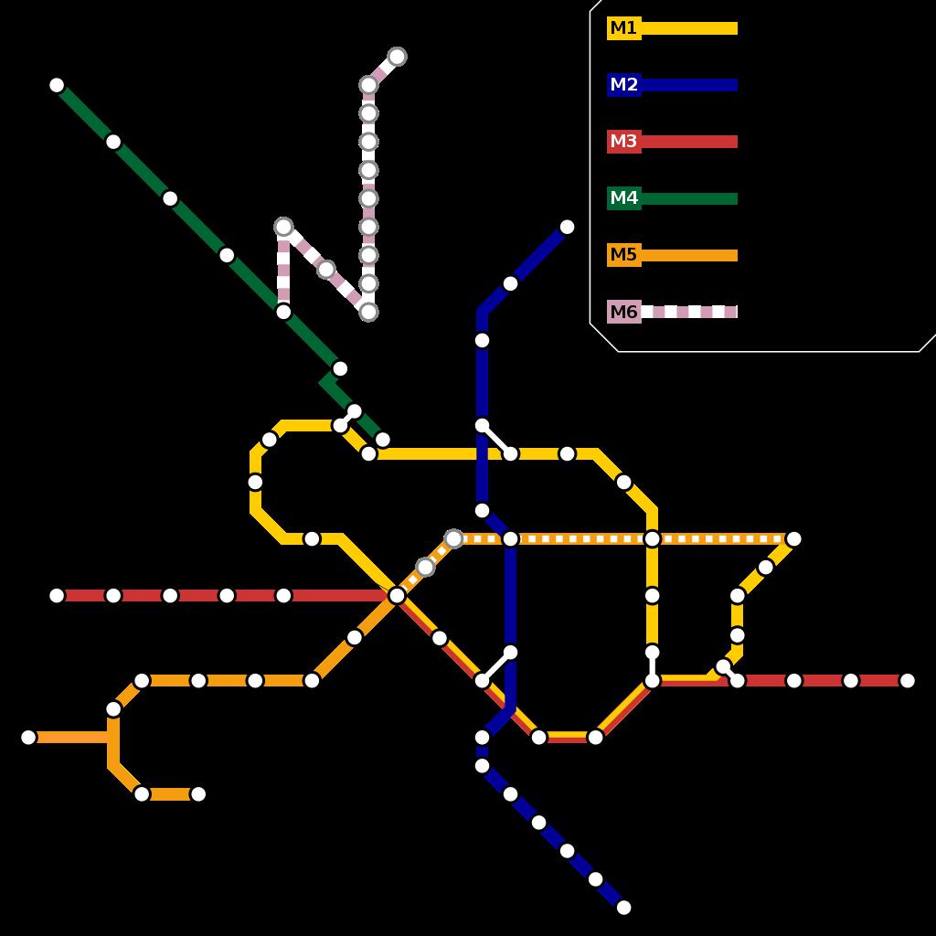 Bucharest Metro Lines
