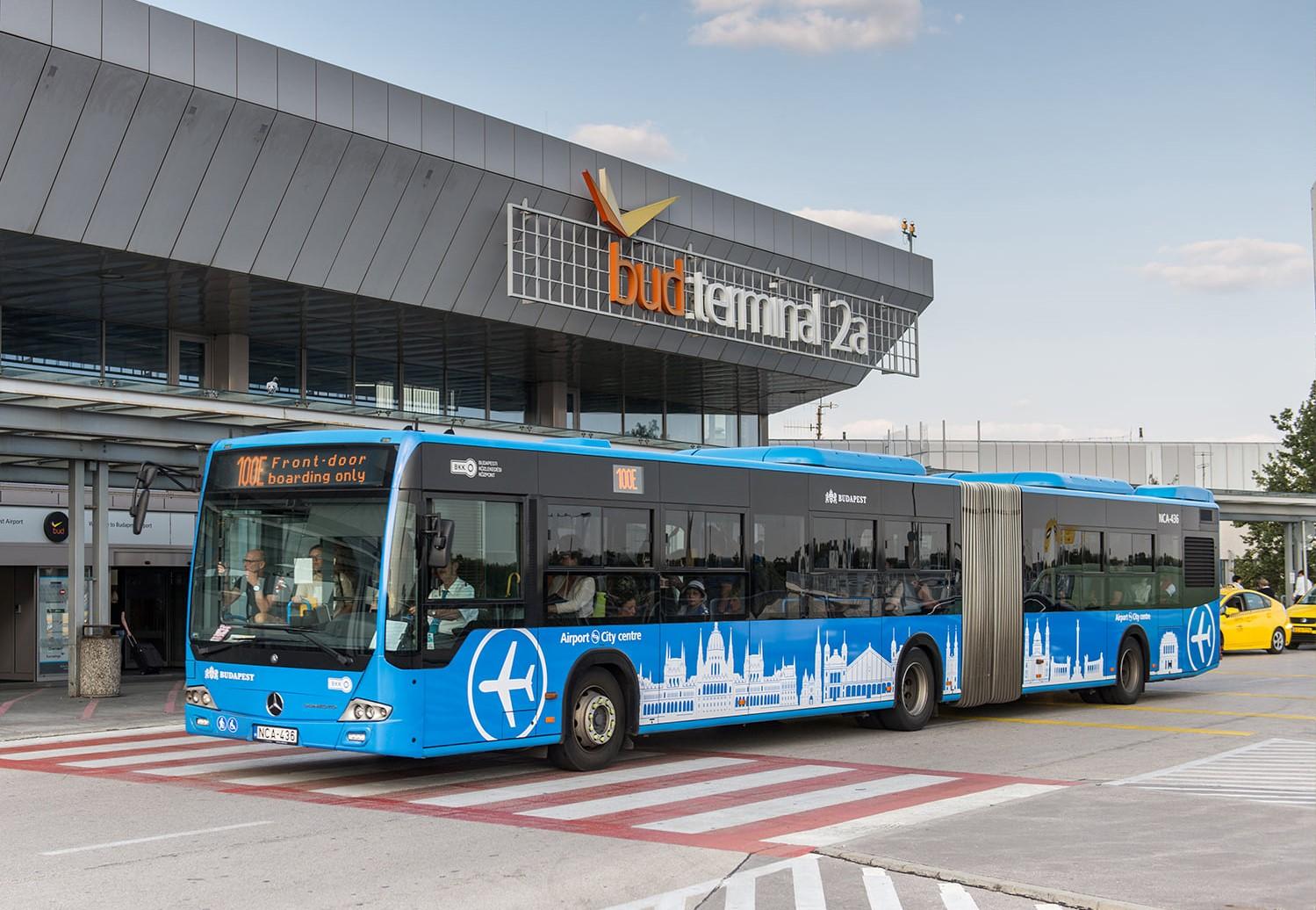 Budapest airport shuttle travel