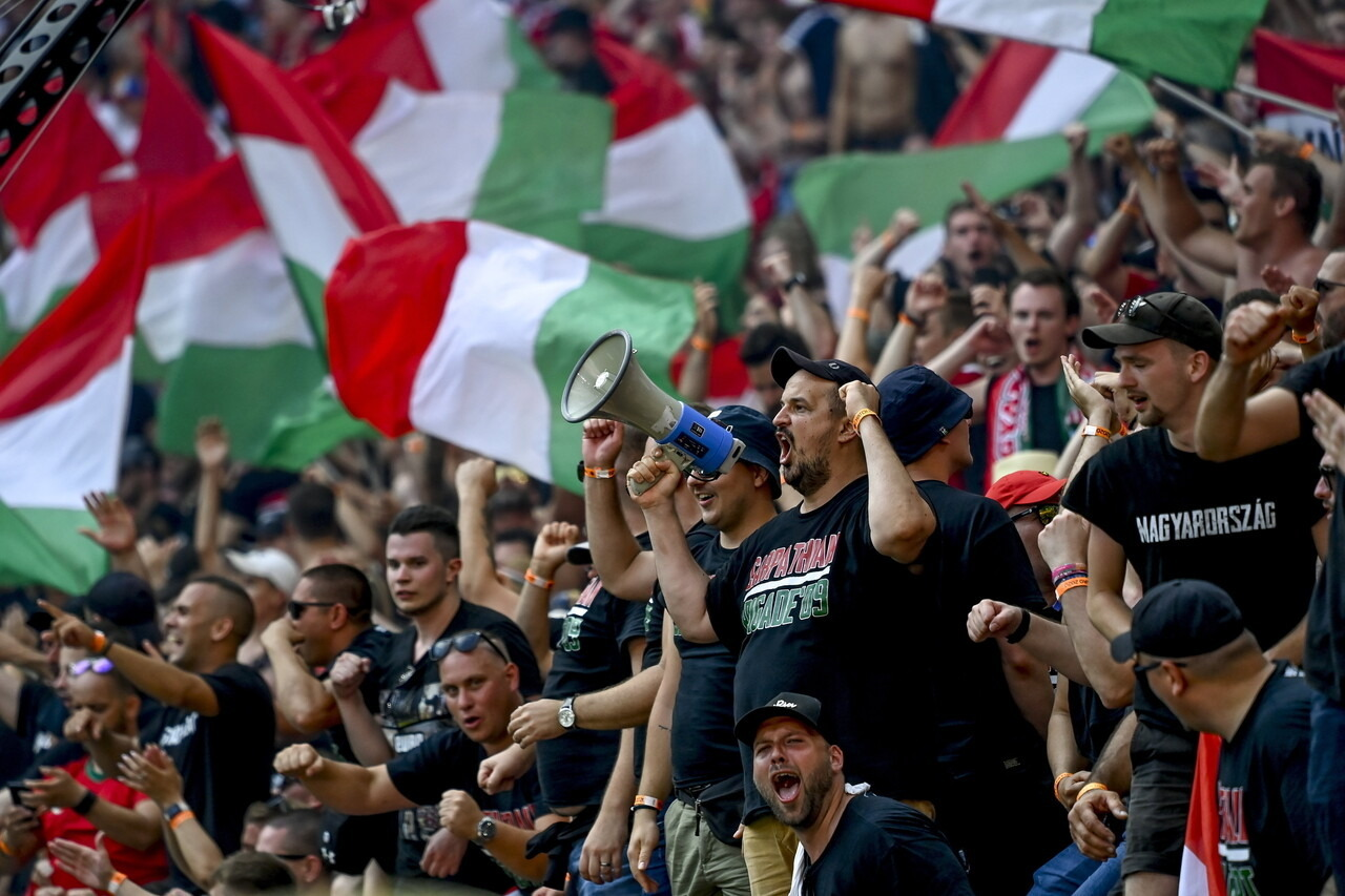 Hungarian Fans Vs France 7