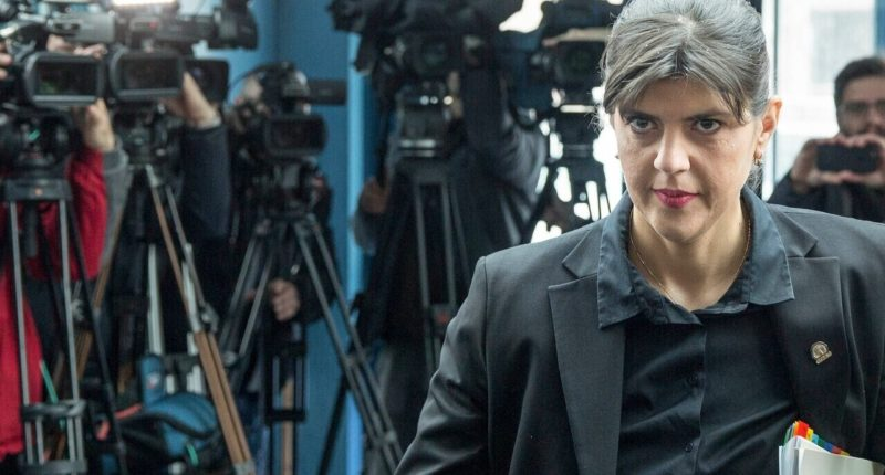 Laura Codruţa Kövesi Hungary European Public Prosecutor's Office