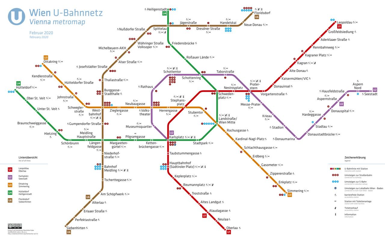 Vienna Metro Lines