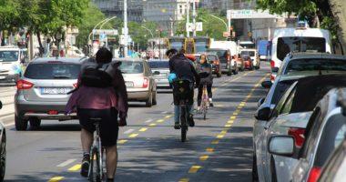 cycling lane budapest