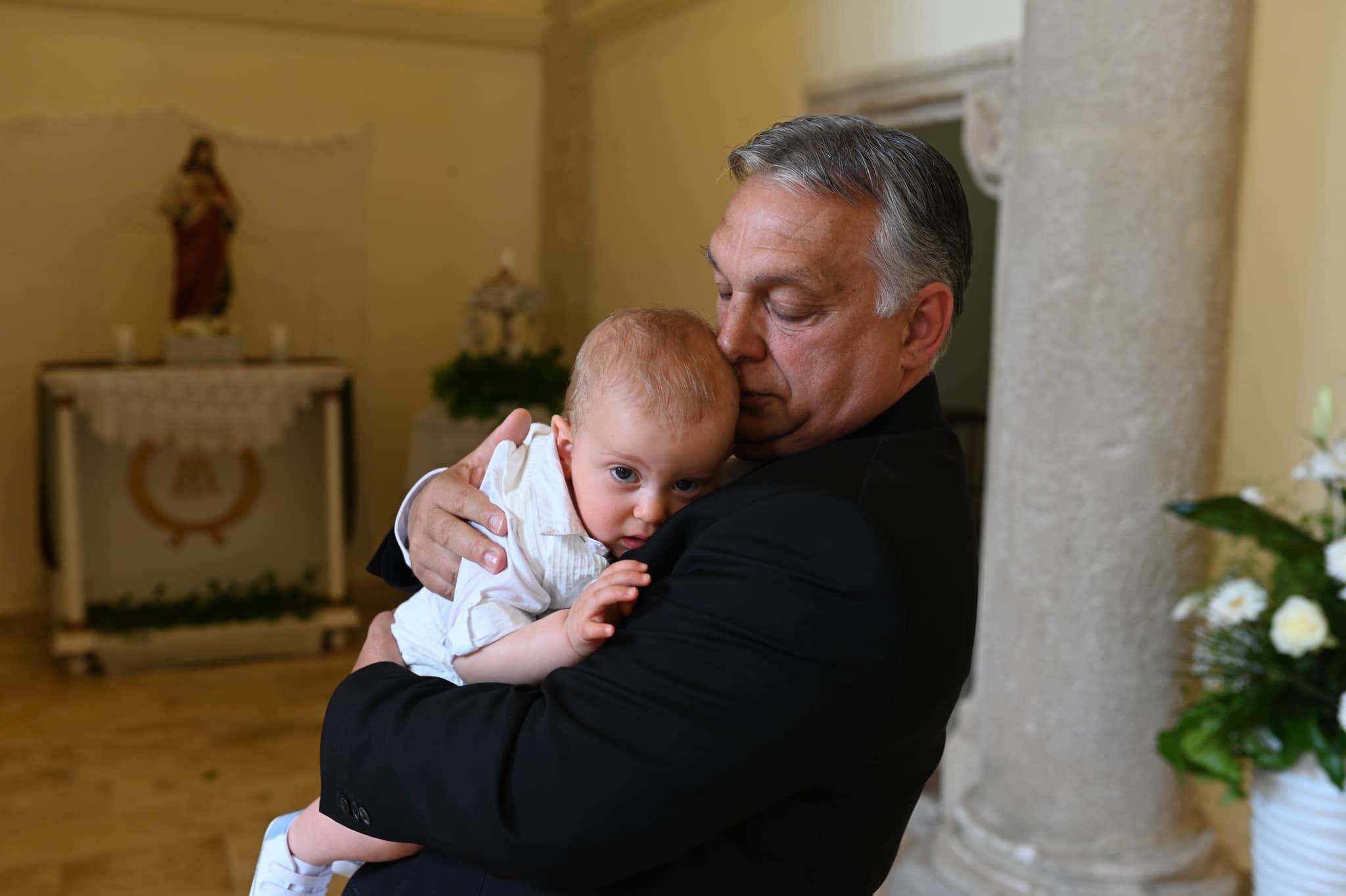 orbán grandson
