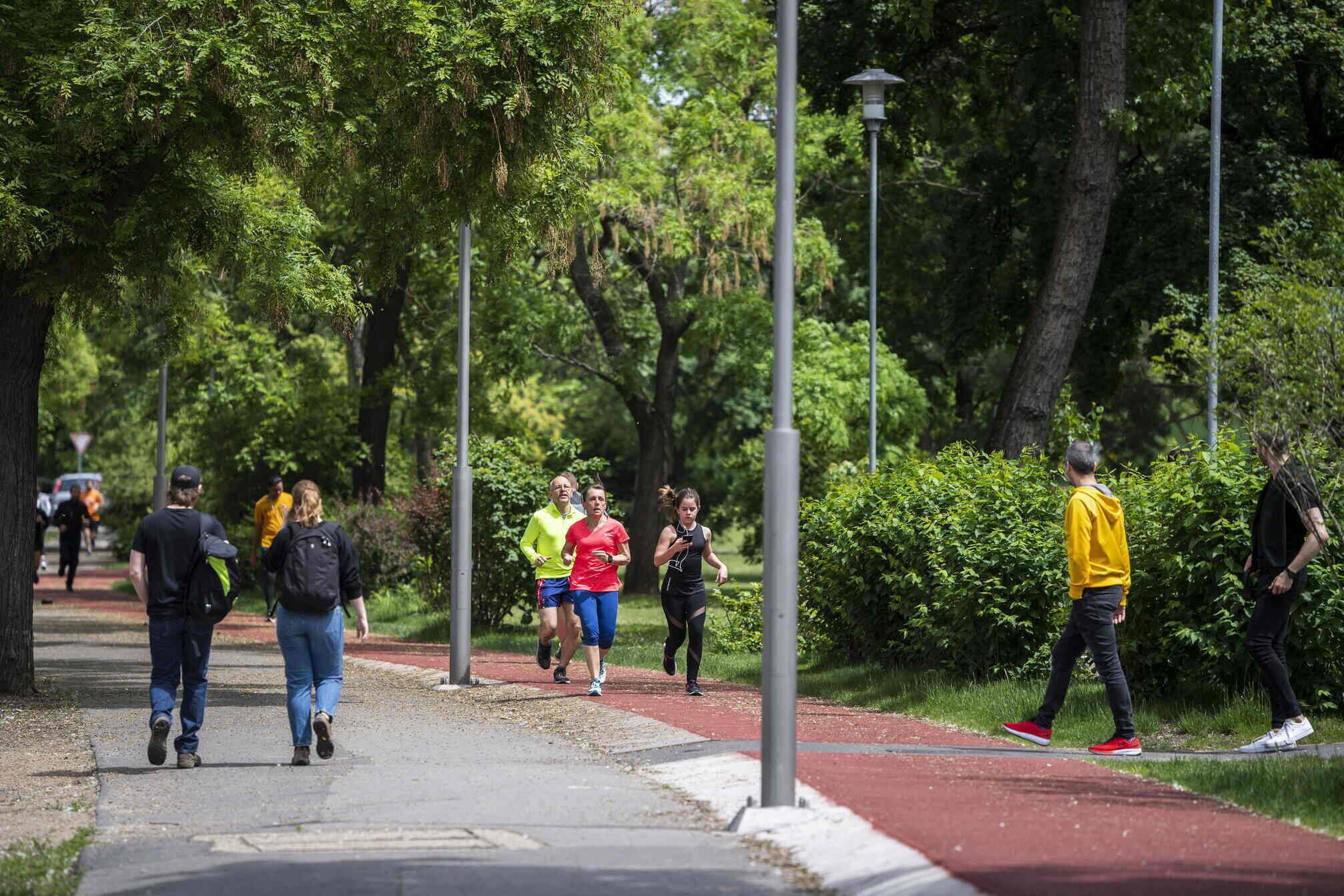 park running