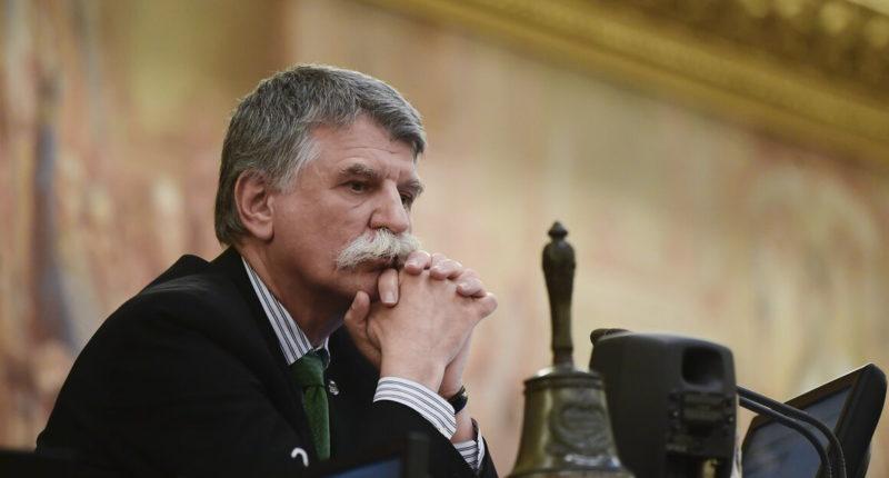 Hungary parliament Balkans