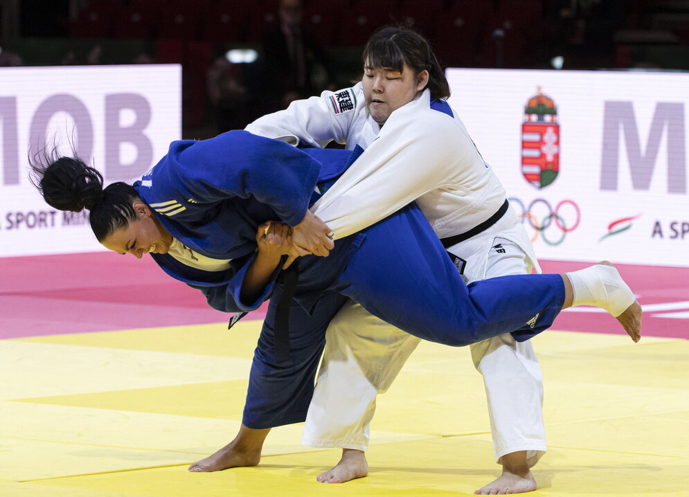 Budapest judo world championships