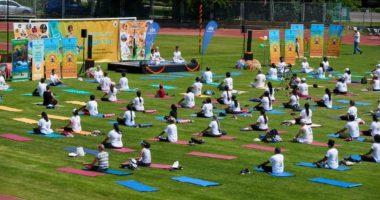 yoga day hungary