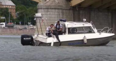 Danube illegal bathing