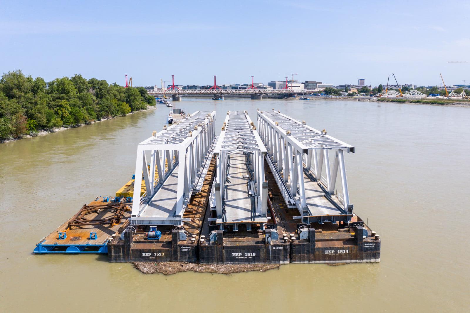 Hungary Budapest bridge