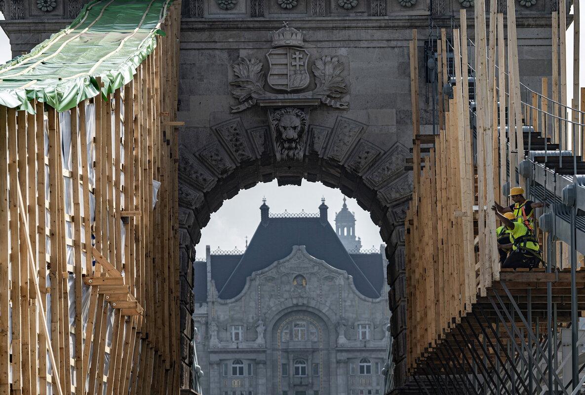 Hungary Chain Bridge Budapest