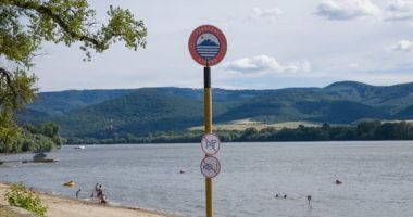 Hungary Danube beach
