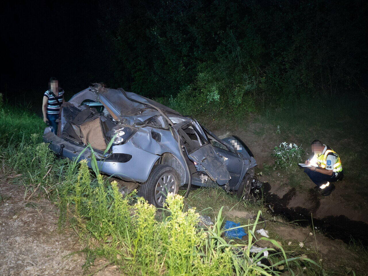 Hungary crime accident migration