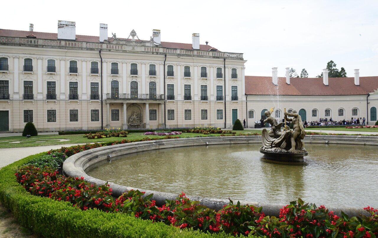 Hungary castle Fertőd