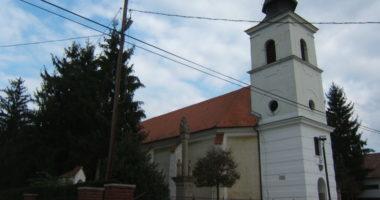 Hungary church Balaton