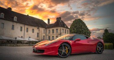 Hungary sports car showroom