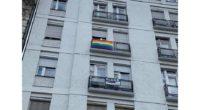 Rainbow flag Budapest