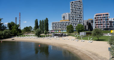 Budapest beach summer