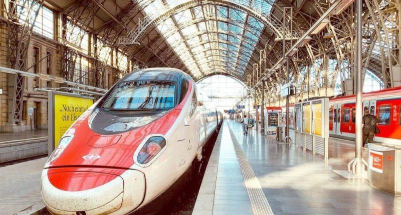 calea ferată Frankfurt de mare viteză