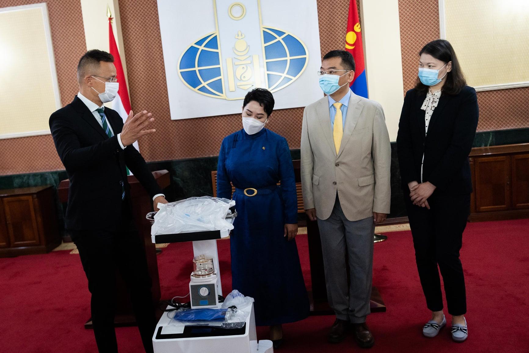 szijjártó mongolia ventilator