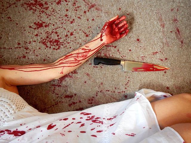 Blood knife police Hungary