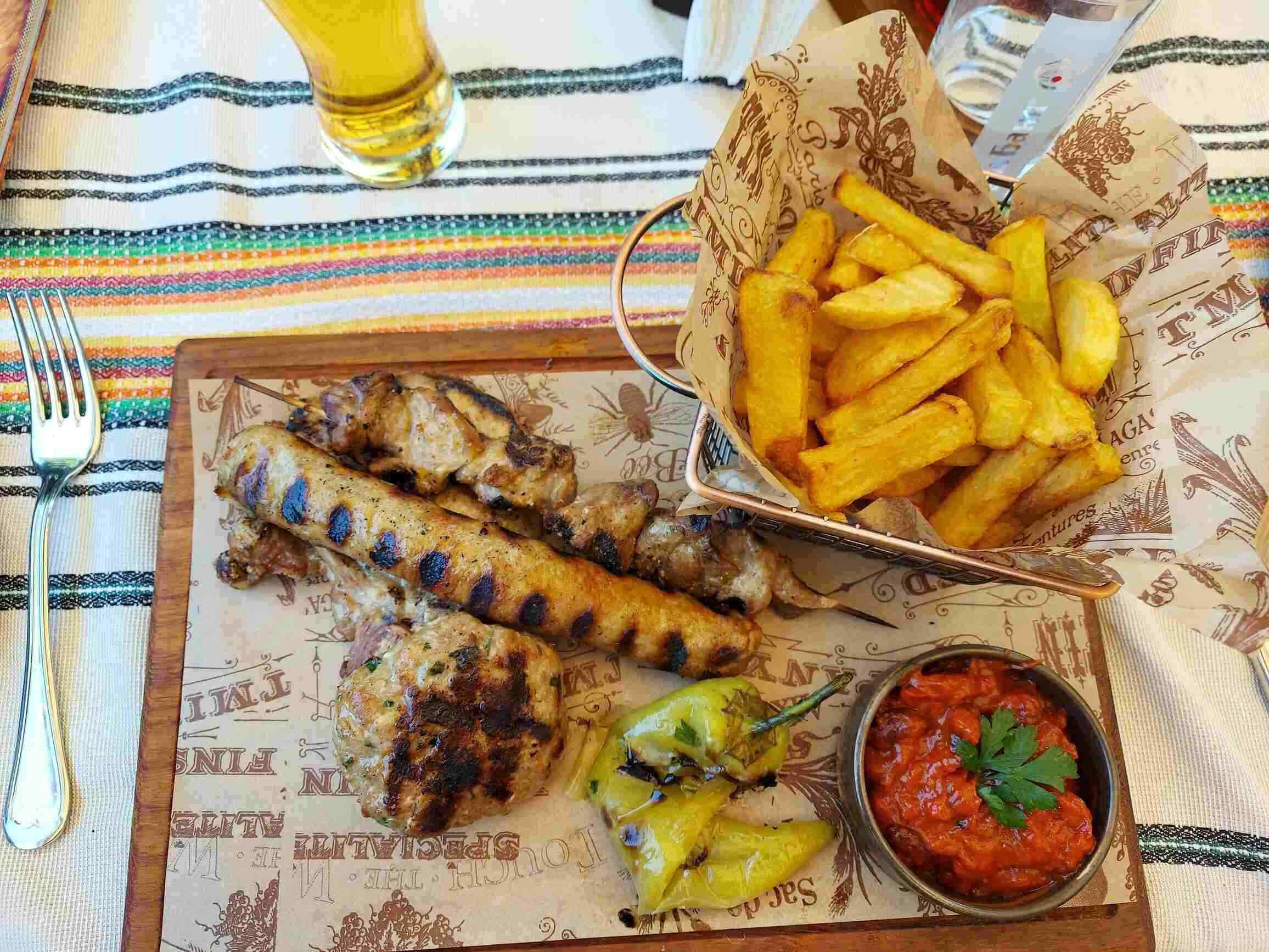 Bulgaria gastronomy