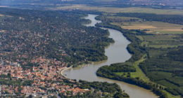 Hungary aerial view