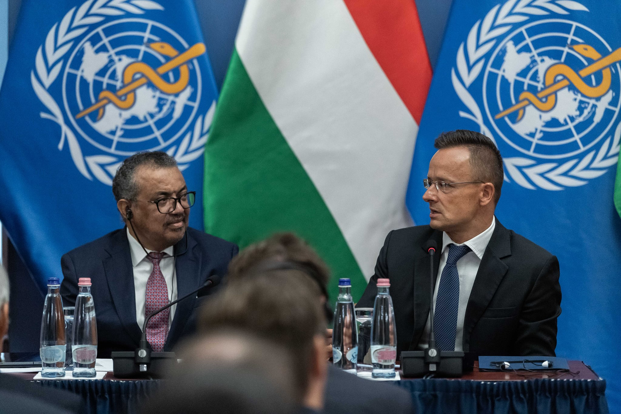 Hungary foreign minister WHO