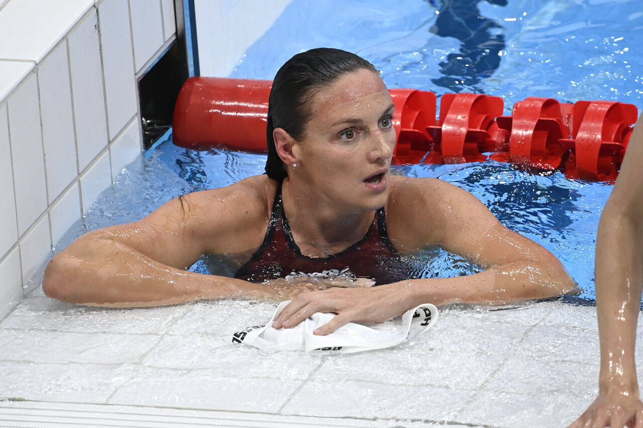 Hungary swimmer Katinka Hosszú