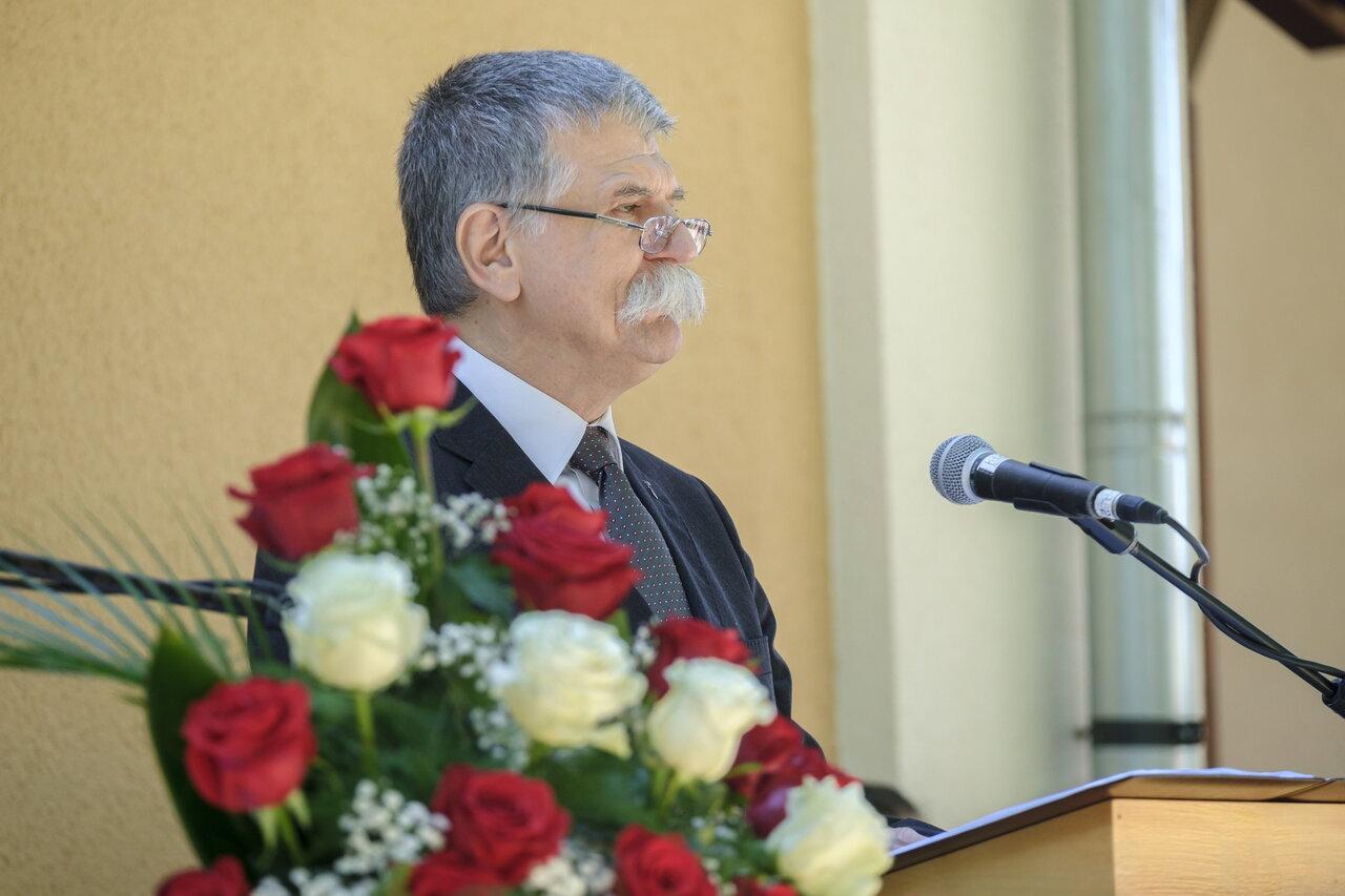 Parliament speaker Kövér