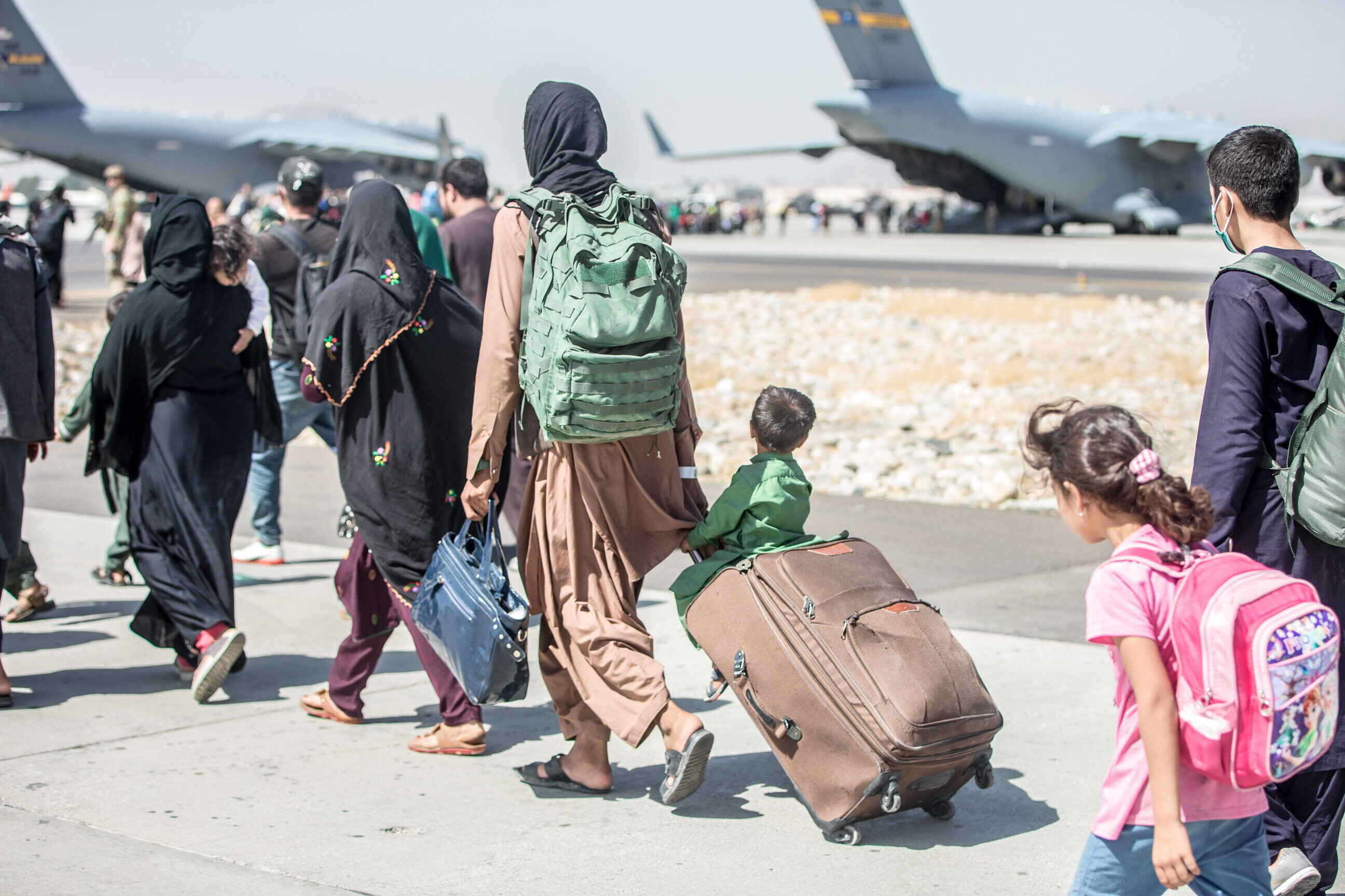 afghan conflict refugees