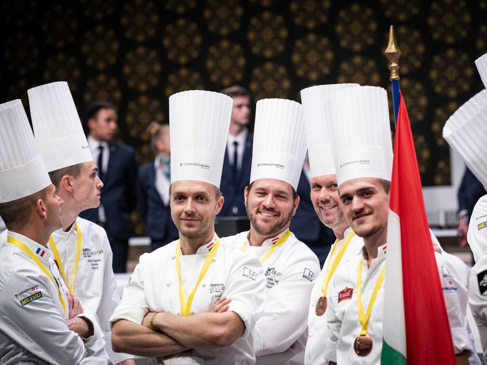 Bocuse d'Oron-competition-gastronomy-Hungarian team