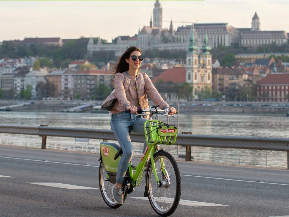Budapest Mol Bubi bike