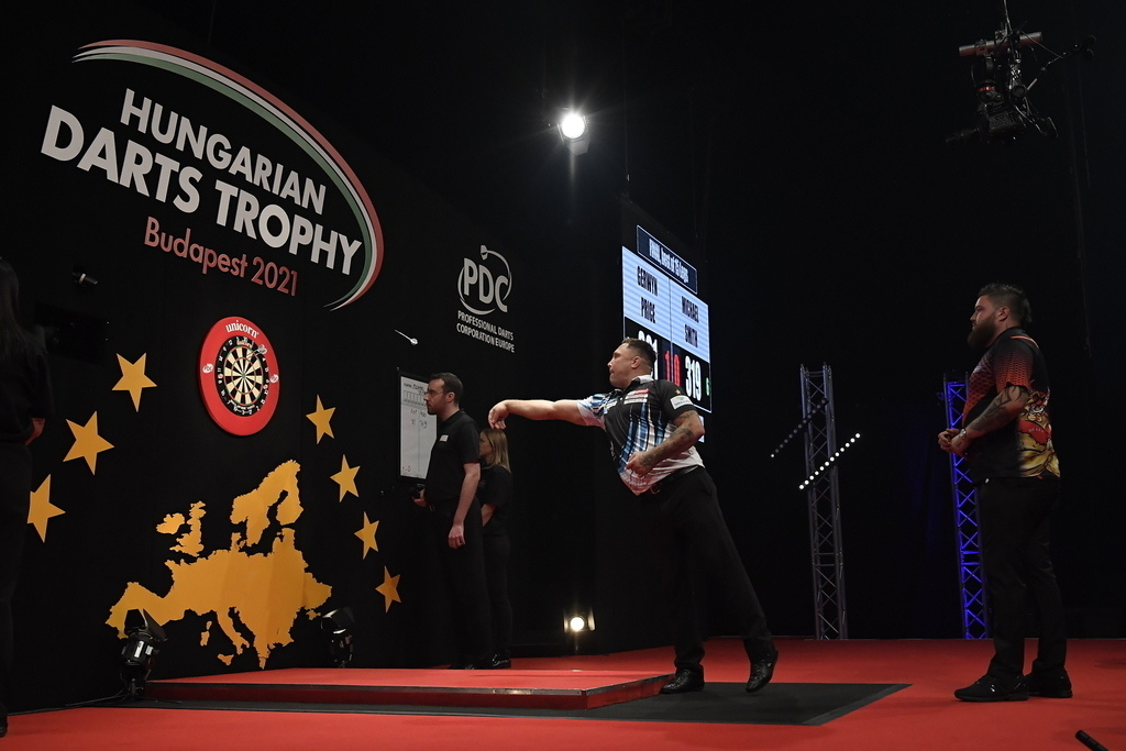The winner of the first Hungarian Darts Trophy played brilliantly — PHOTOS