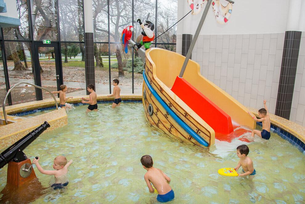 Harkány thermal spa-kids-pool