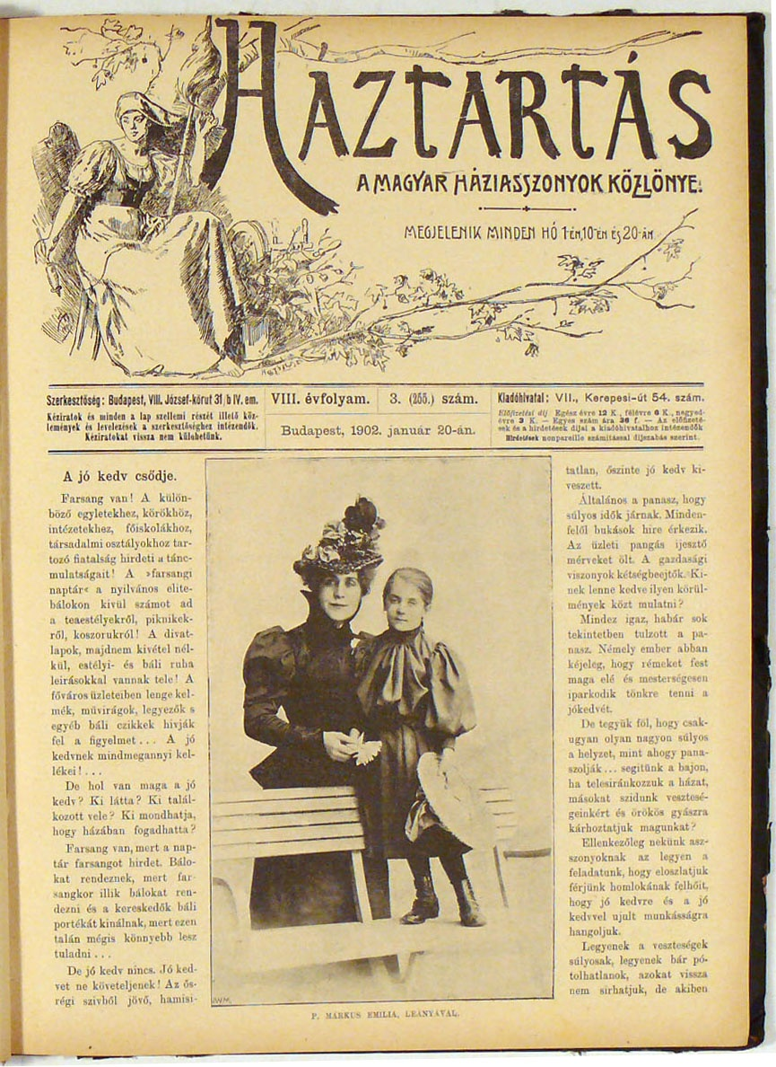 Hungarian Housewives' Gazette