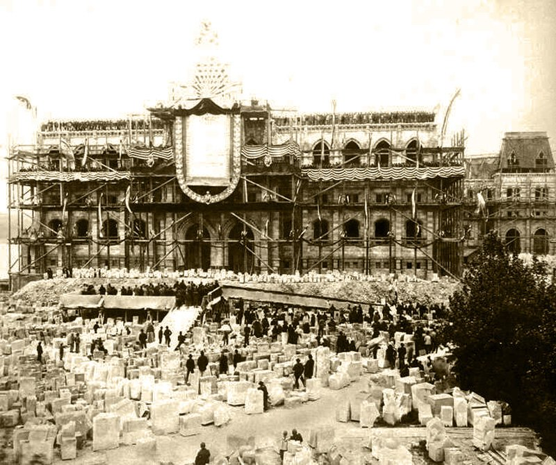 Hungarian Parliament Construction