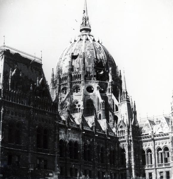 Hungarian Parliament Ruin