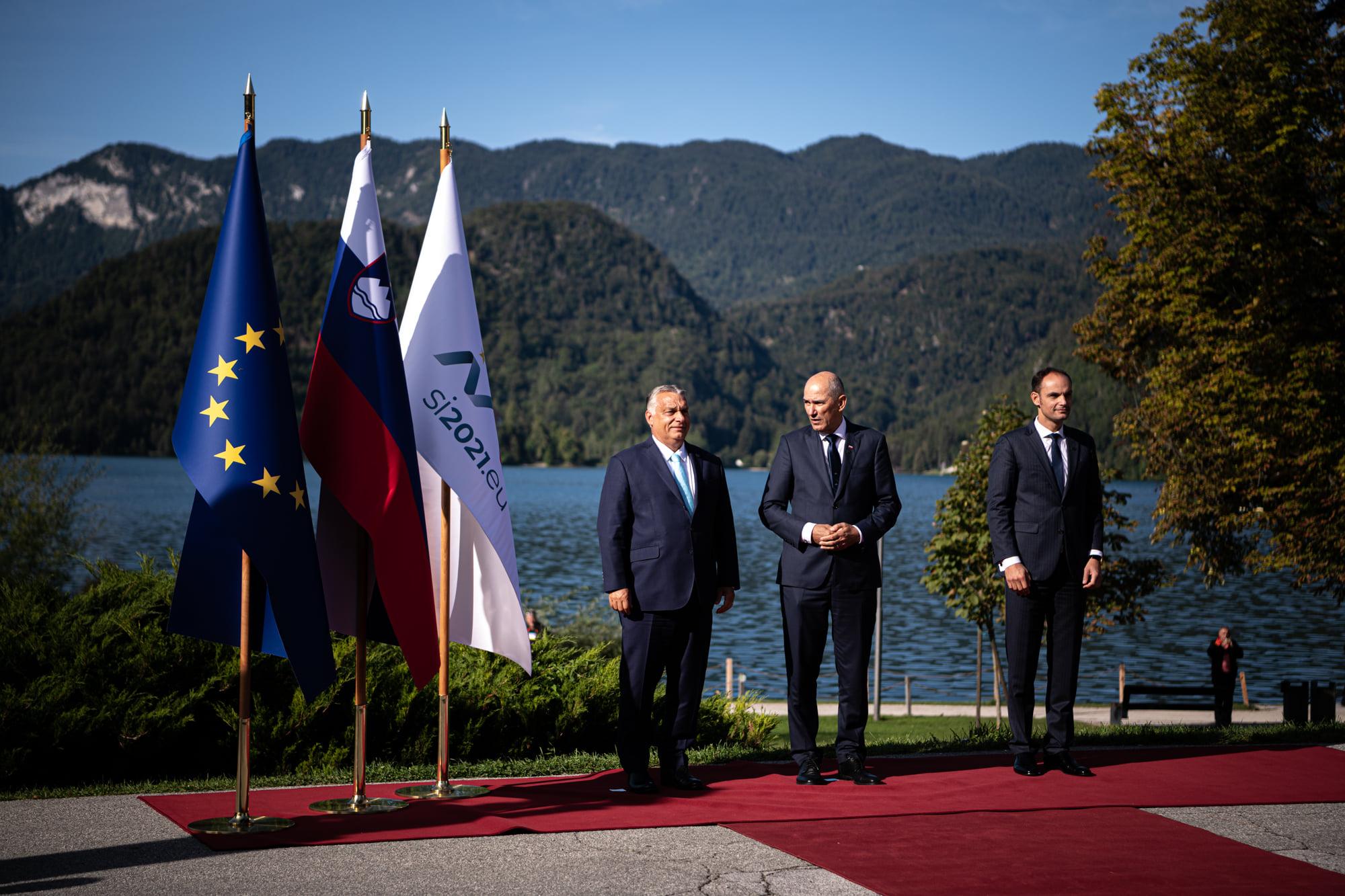 Hungary Bled Slovenia migration
