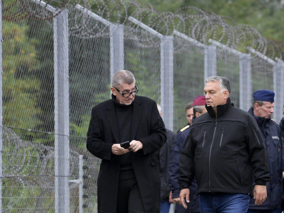 Hungary Czech Republic border