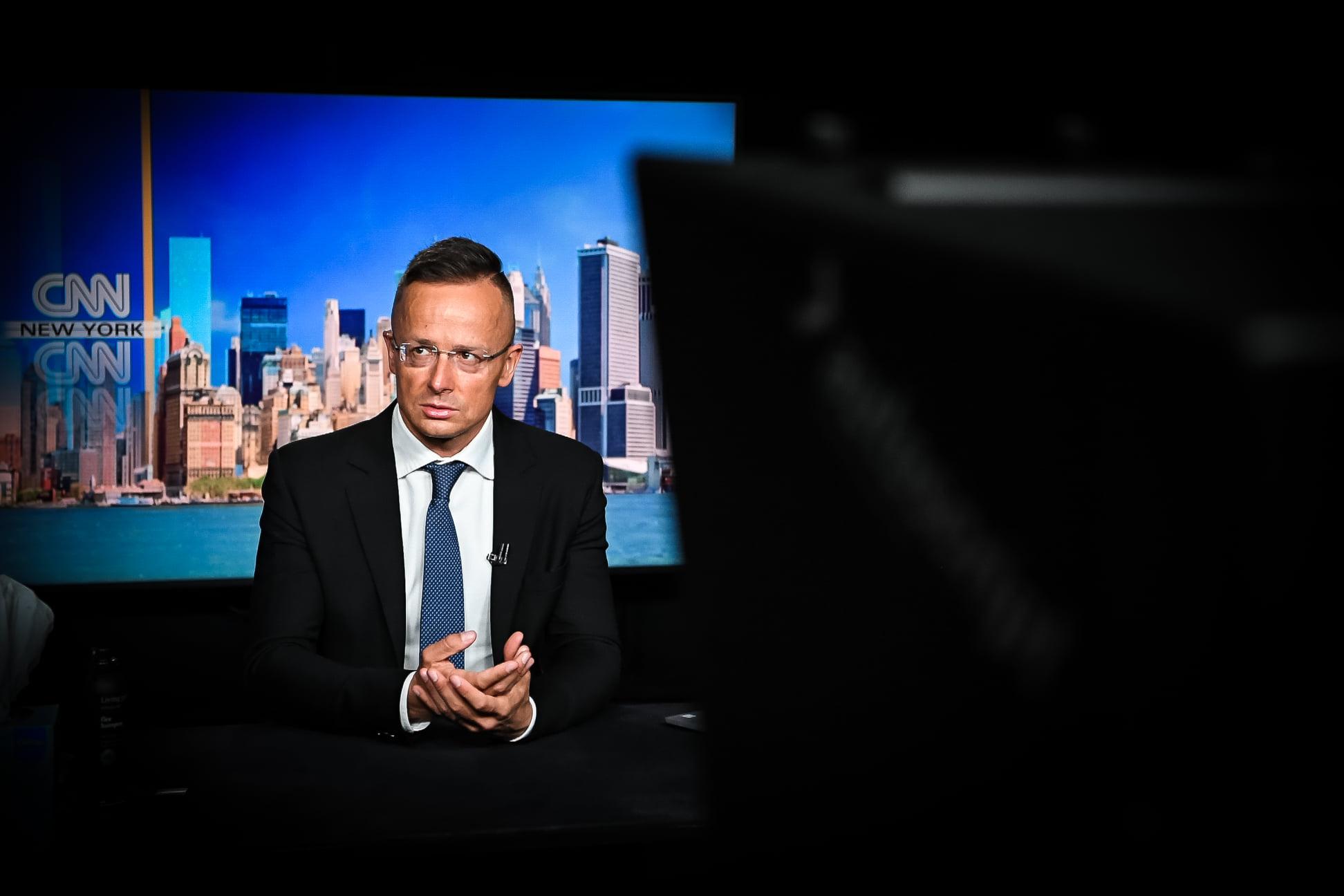 Hungary USA Szijjártó CNN