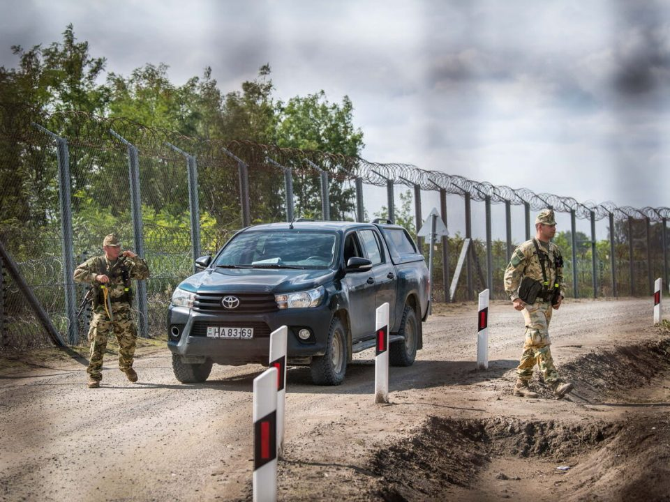 Illegal Migrants at Hungarian Borders