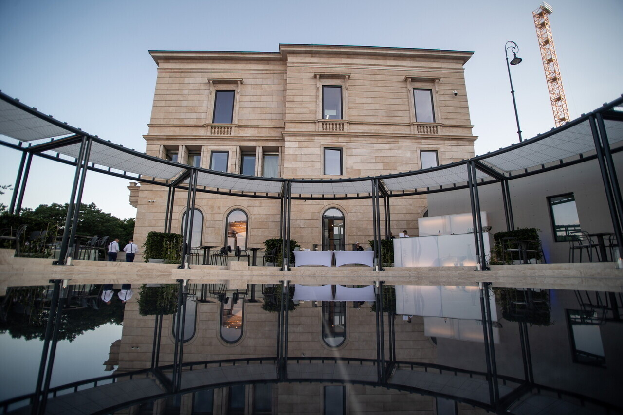 Lónyai-Hatvany Villa Budapest Inauguration 1