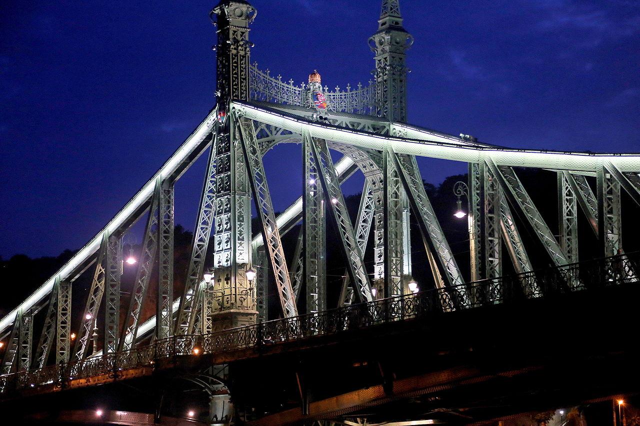 Liberty Bridge Budapest 3