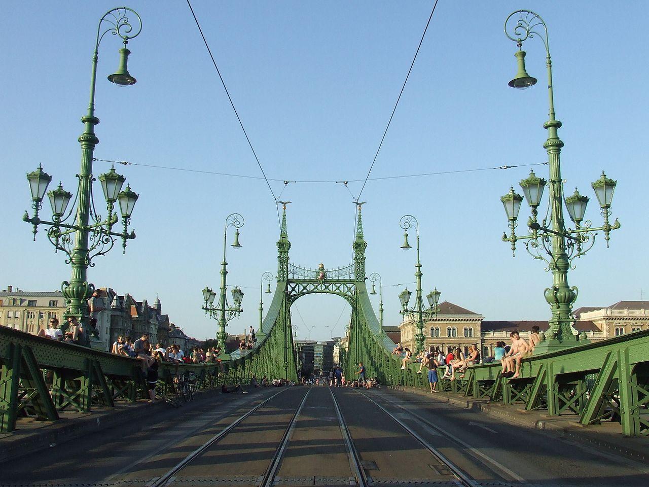 Liberty Bridge Budapest 4