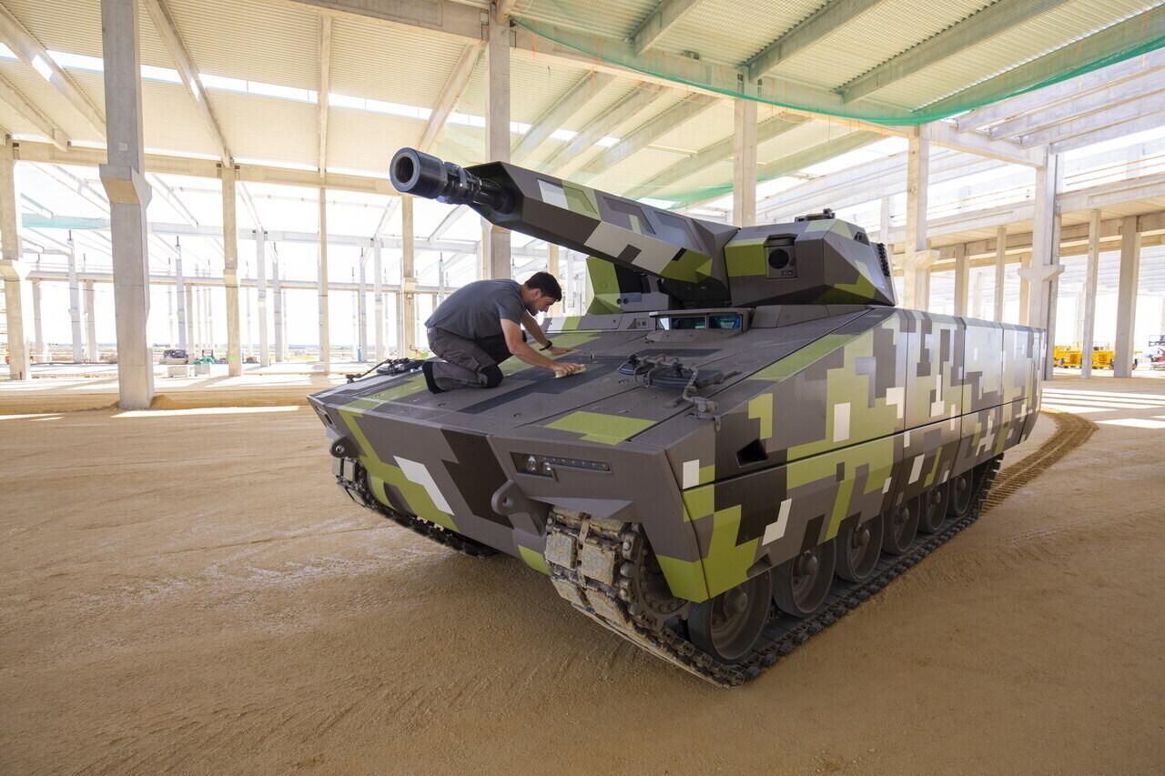 Lynx Combat Vehicle Factory 1