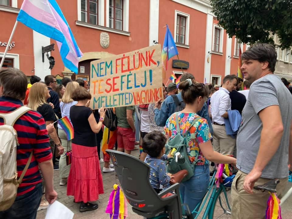 Pécs Pride March 1
